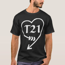 National Down Syndrome Awareness Month T21 Vintage T-Shirt