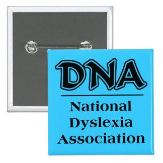 National Dyslexic Association Funny Button Humor