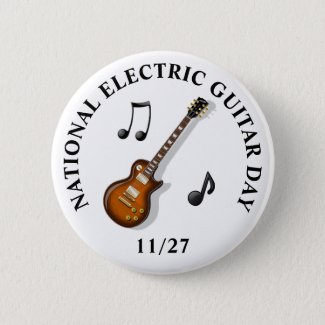National Electric Guitar Day November 27th Holiday