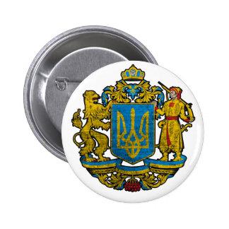 National Emblem Ukraine 2 Inch Round Button
