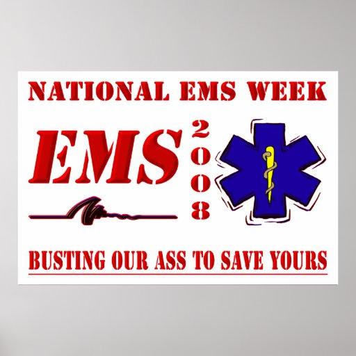 National EMS Week 2008 Poster