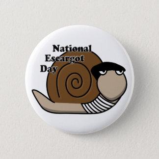 National Escargot Day Button