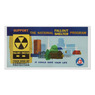 National Fallout Shelter Program Poster