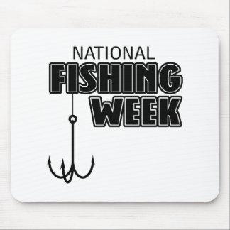National Fishing Week Mouse Pad
