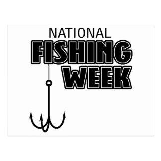 National Fishing Week Postcard