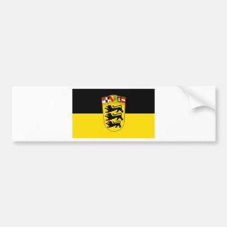 National flag Baden-Wuerttemberg Car Bumper Sticker