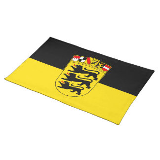 National flag Baden-Wuerttemberg Cloth Placemat