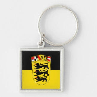 National flag Baden-Wuerttemberg Keychain