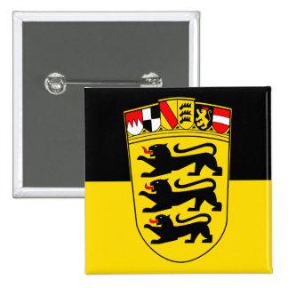 National flag Baden-Wuerttemberg Pinback Button