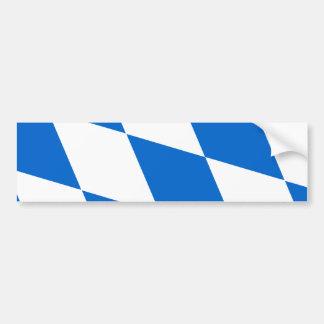 National flag Bavaria Bumper Sticker
