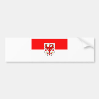 National flag Brandenburg Car Bumper Sticker