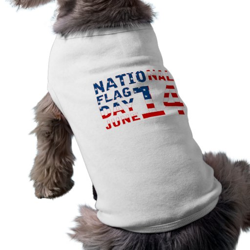 National Flag Day Doggie T-shirt