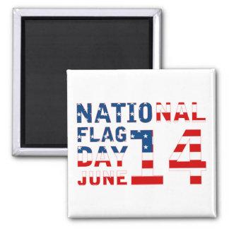National Flag Day Magnets
