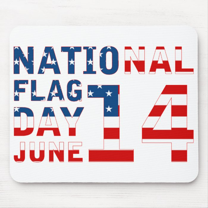 National Flag Day Mouse Pad