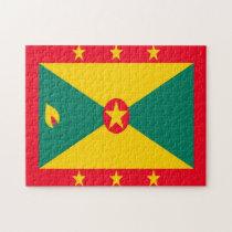 National Flag Grenada Caribbean. Jigsaw Puzzle
