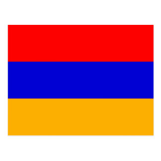 National Flag of Armenia Postcard