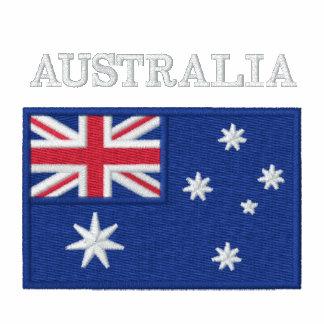 National Flag of Australia Embroidered Hoodie