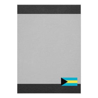 "National Flag of Bahamas 5"" X 7"" Invitation Card"
