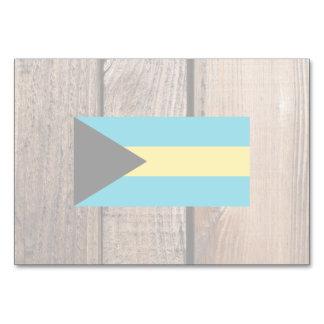 National Flag of Bahamas Table Cards