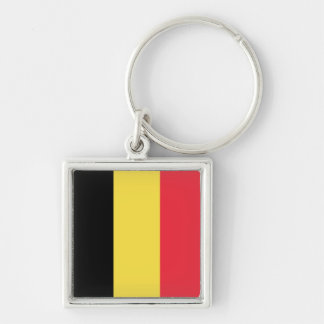National Flag of Belgium Keychain