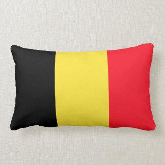 National Flag of Belgium Lumbar Pillow