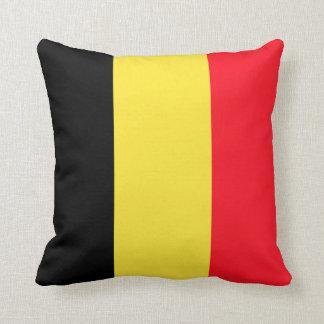 National Flag of Belgium Throw Pillow