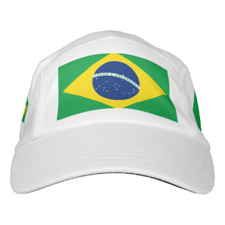 National Flag of Brazil, accurate proportion color Headsweats Hat