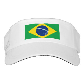 National Flag of Brazil, accurate proportion color Visor