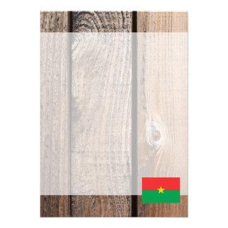 National Flag of Burkina Faso Card