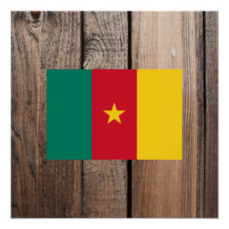 National Flag of Cameroon Poster