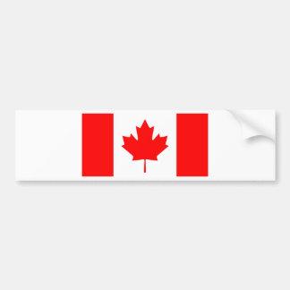 National Flag of Canada - Drapeau du Canada Bumper Sticker