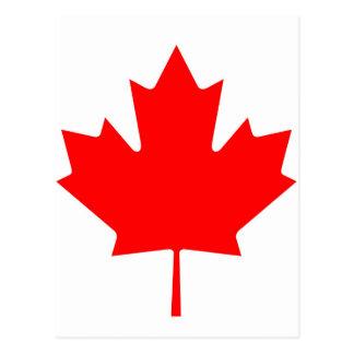 National Flag of Canada - Drapeau du Canada Postcard