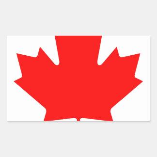 National Flag of Canada - Drapeau du Canada Rectangular Sticker