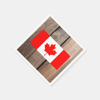 National Flag of Canada Paper Napkin