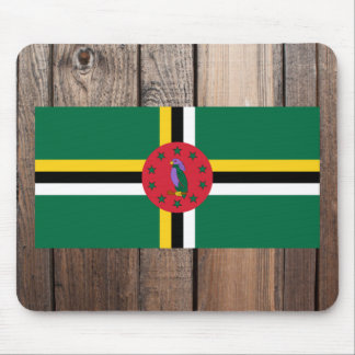 National Flag of Dominica Mouse Pad