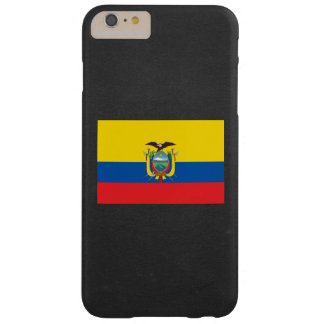 National Flag of Ecuador Barely There iPhone 6 Plus Case