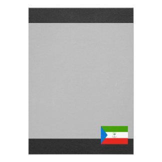 National Flag of Equatorial Guinea Card