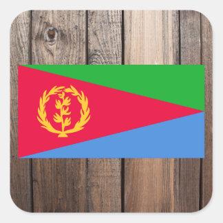 National Flag of Eritrea Square Sticker