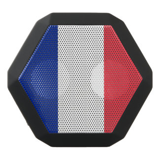 National Flag of France Black Bluetooth Speaker