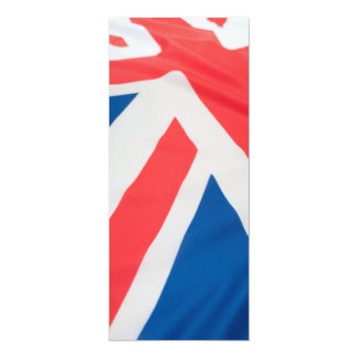 National Flag Of Great Britain Card