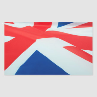 National Flag Of Great Britain Rectangular Sticker