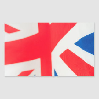 National Flag Of Great Britain Rectangle Stickers