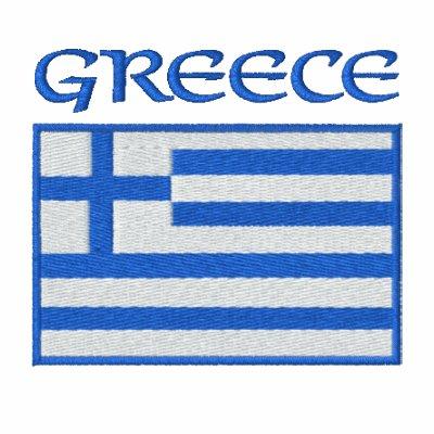 National Flag of Greece Hoodie