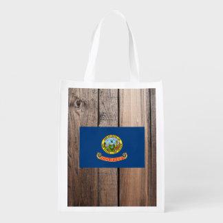 National Flag of Idaho Grocery Bag