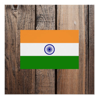 National Flag of India Poster