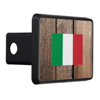 National Flag of Italy Hitch Cover