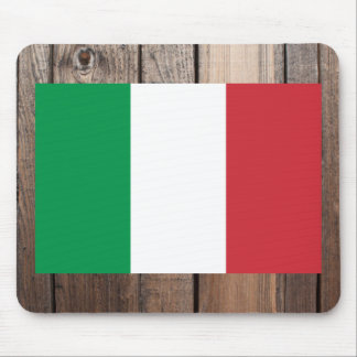 National Flag of Italy Mouse Pad