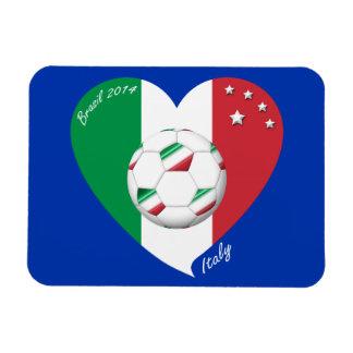 National flag of ITALY SOCCER of world 2014 Flexible Magnet