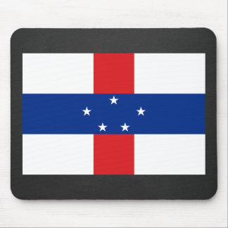 National Flag of Netherlands Antilles Mouse Pad