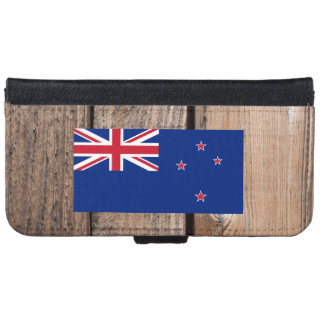 National Flag of New Zealand iPhone 6/6s Wallet Case